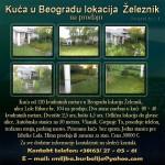Kuća u Beogradu lokacija Železnik na prodaju