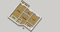 NS: Povoljan trosobni stan na Novoj Detelinari 69m2