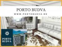 PORTO BUDVA – Prodaje stan C213- 64.15m2+13.22 m2 TERASA GRATIS!