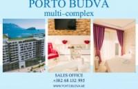 PORTO BUDVA – Prodaje stan C713- 60.55m2 + 12m2 TERASA GRATIS