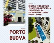 PORTO BUDVA prodaje stan C103-55.19m2+18.42m2 TERASA GRATIS!
