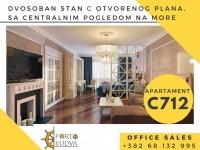 PORTO BUDVA – Prodaje stan C712- 60.30m2+11.92m2 TERASA GRATIS!