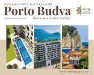 PORTO BUDVA – Prodaje stan B804- 50.42m2+9,75m2 TERASA GRATIS