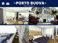 PORTO BUDVA – Prodaje stan B707- 60.55m2 + 12m2 TERASA GRATIS