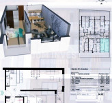 ZVEZDARA,Lux,nov stan,odmah useljiv, 57m2