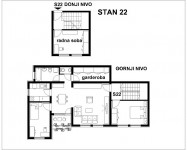 Četvorosobni stan na odličnoj lokaciji